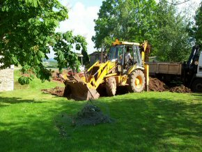 JCB used in Earthmoving / Excavation