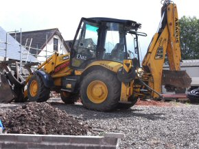JCB for excavation